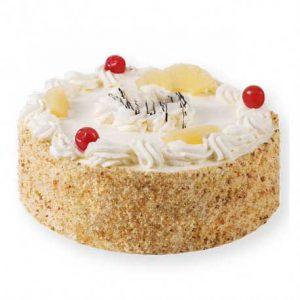 Torta de Chantilly Sabor Piña para 10 porciones