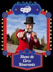 show de circo candy pop