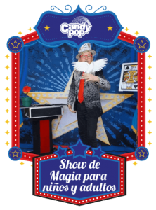 show de magia candy pop