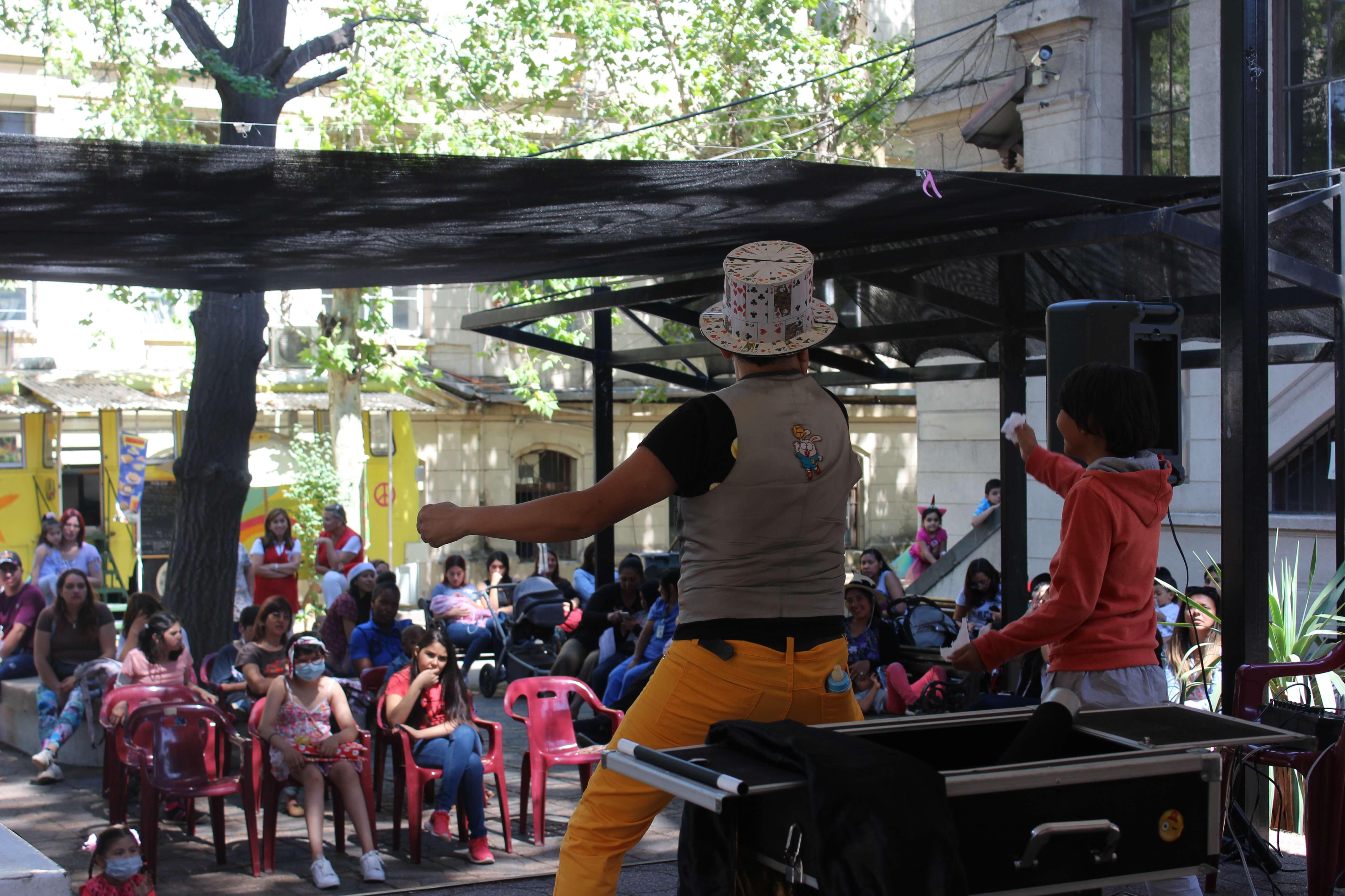 Show de Magia para niños del Hospital Clínico San Borja Arriarán